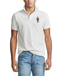 3xltbig And Tall Mens S/s Classic Bear Polo Shirt