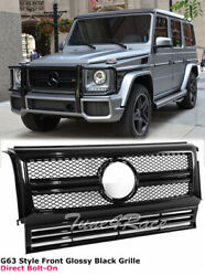 02-17 Mercedes-benz G Class W463 Black Front Grille Hood Radiator Grill G63 G65