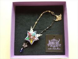 Used Star Ale Necklace Sailor Moon Anna Sui 2018 Isetan Limited Good Condition