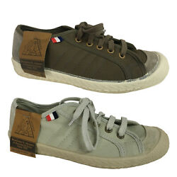 Sneakers Woman Le Coq Sportif Cloth And Rubber Sole Mod. Worker