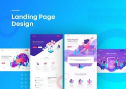Incredible Responsive Landing Page Design (Gold Package)