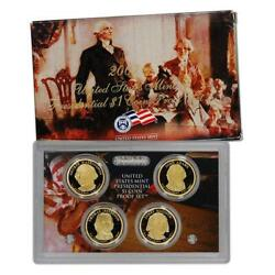 2007 Us Mint Proof 4 Coin Presidential Proof Set, Original Mint Packaging