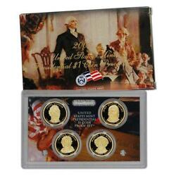 2008 Us Mint Proof 4 Coin Presidential Proof Set, Original Mint Packaging
