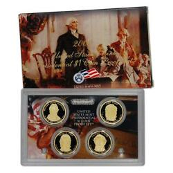 2009 Us Mint Proof 4 Coin Presidential Proof Set, Original Mint Packaging