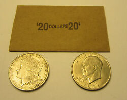 200 Morgan Peace Eisenhower Ike Silver Dollar Coin Wrappers Paper Coin Wrapper