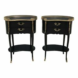 Pair Of French Louis XV Side Tables Or Night Stand 1920s