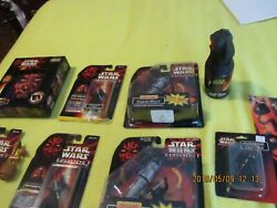 LOT OF STAR WARS EPISODE I TOYS  ACTION FIGURES and ACCESSORIES NIB