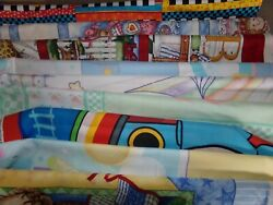 Nursery Baby Kids Panel Blanket Cotton Quilt Fabric U-pick See Listing For Info