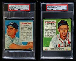 Red Man Tobacco  1953 Red Man Partial Complete Set VG+