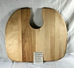 Harwood Cutting Board Sink Cut Out Solid Wood 19 X 21 Never Used