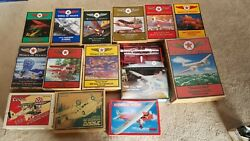 21 Diecast 1/32 Scale Airplane Collection. Featuring Wings Of Texaco 1-11