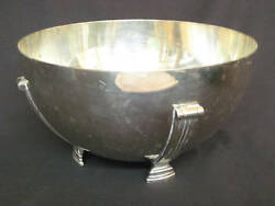 Old Shreve And Co. Art Deco Sterling Silver Bowl 1143 9