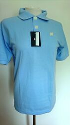 Polo Shirt Horse New Brown Light Blue Green Size M L