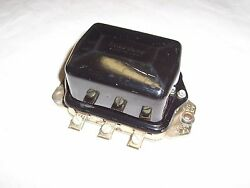 New Delco Voltage Regulator - 1953-62 Gm Cars - Replaces Gm 1119000 D617