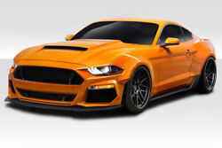 18-19 Ford Mustang Duraflex Grid Wide Body Kit 12 Pc 115123
