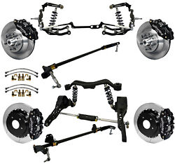 Ridetech Coiloversteering Systemboth Sway Barswilwood Disc Brakes13 Rotors