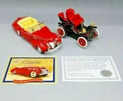 Cadillac 1903 Runabout And 1940 Cadilac Series 62 In Boxes Collectible