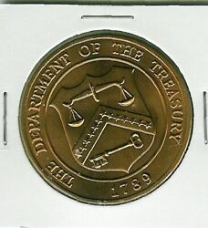Unc United States Mint Department Of The Treasury1789 Denver Colorado Token Coin
