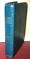 Holy Bible New Scofield Reference Edition 1967 Genuine Leather Oxford Vintage