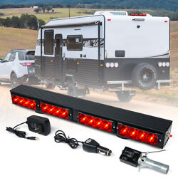 Xprite 21.5 Tow Stick Wireless Tow Light Bar Red Led Brake Running Turn Signal