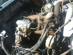 Carburated Ford 4.9 300 6 Cylinder Longblock Engine No Core Will Ship