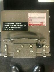 Panel Protection Electrical System P/n 902f247-5 8130-3 Airline Trace 12344