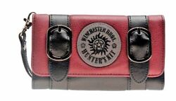 Supernatural Winchester Brothers Red Hand Purse Trifold Clutch Wallet $19.99