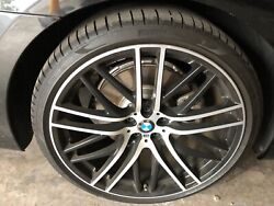 """21"""" M Series Rims And Tires For 7 Series Bmw"""