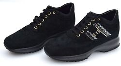Hogan Interactive Woman Sneaker Shoes Sports Casual Trainers Hxw00n0v340cr0b999