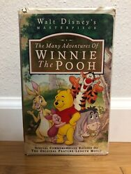 Walt Disneyandrsquos Masterpiece Collection The Many Adventures Of Winnie The Pooh
