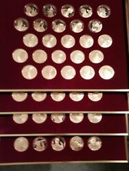 Rare 100 Bronze Medals Of Greatest Women Of American History . Incredible