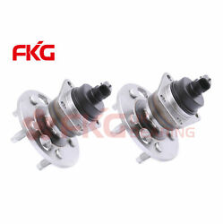 Rear Wheel Hub Bearings W/abs Pair For Buick Cadillac Chevy Olds Pontiac 512001w