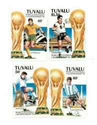 Full Sheets Tuvalu 1994 Sc 666-9 - Wold Cup Soccer - 4 Sheets Of 40 - Mnh