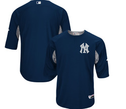 NY Yankees Majestic Authentic Collection On Field Batting Practice Jersey