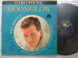 Autographed Signed / Pat Boone Moonglow / Us Dot