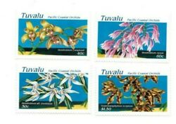 Full Sheets Tuvalu 1995 Sc 697-700 - Orchids - 4 Sheets Of 40 - Mnh