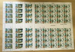 Full Sheets Tuvalu 1995 Sc 704-7 - End Of Wwii - 4 Sheets Of 40 - Mnh