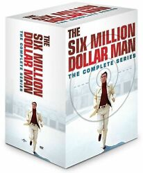 The 6 Six Million Dollar Man Complete Series 3 Reunion Movies Collection Dvd Set