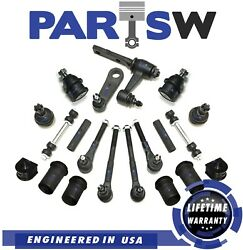 20 Pc Tierod End Adjusting Sleeves Ball Joints Suspension Kit For F-150 F-250