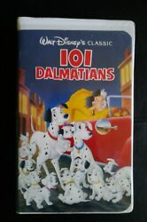 1992 Black Diamond 101 Dalmations Collectable Vhs Tape