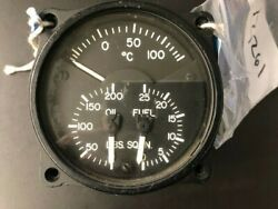 Aircraft Instrument Engine Gauge P/n 18-2000-1 Ohc Trace 145 12261