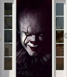 It Full Color Halloween Banner Outdoor Cover For Hause Decoration Front Door B11