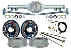 Currie 62-67 X-body Multi-leaf Rear End And 11 Drum Brakeslinese- Cablesaxles