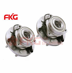 2 New Front Wheel Bearing Hub For 2006 2007 2008 2009 Hummer H3 4wd Awd 515093