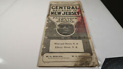 Central Railroad Of New Jersey December 1 1907 Feb 17 1908 Time Table