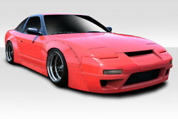 For 89-94 Nissan 240sx Hb Rbs V3 Wide Body Kit 12pc 113878