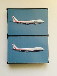 1975 Wardair Airlines Vintage Deck Of Cards In Box