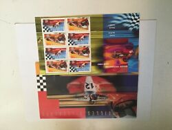 Formula 1 rare Gille Villeneuve rare limited issued stamp set 1980s