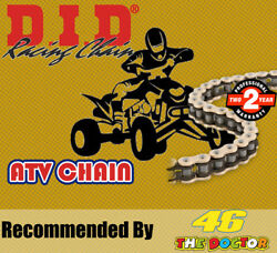 Did Gold And Black Atv2 Drive Chain 520 P 118 L For Ktm Sxc