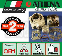 Athena Cylinder Kit - 70 Cc 10mm Pin - With Cylinder Head For Malaguti Scooters